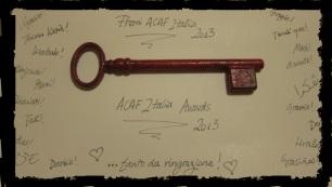 Premi ACAF 2013
